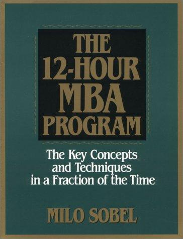 Download The 12-hour MBA program