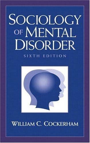 Download Sociology of Mental Disorder (6th Edition)