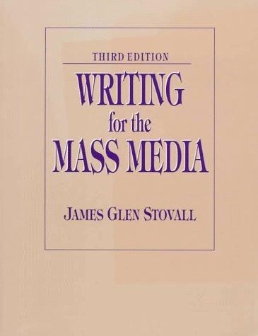 Download Writing for the mass media
