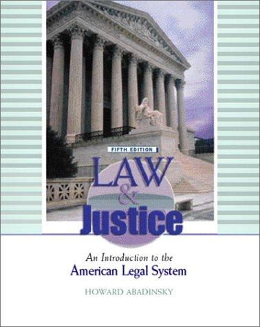 Download Law and justice