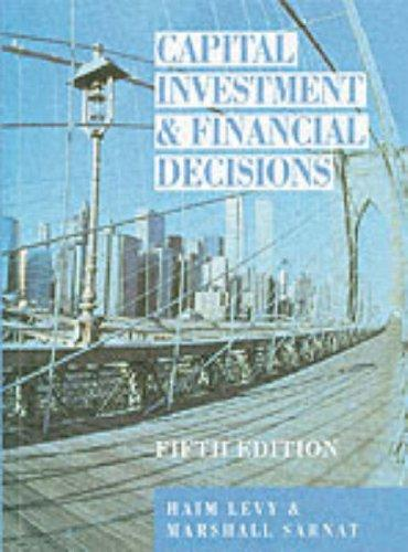 Download Capital investment and financial decisions