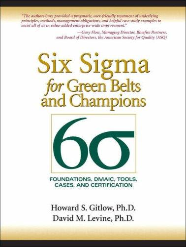 Download Six Sigma for Green Belts and Champions