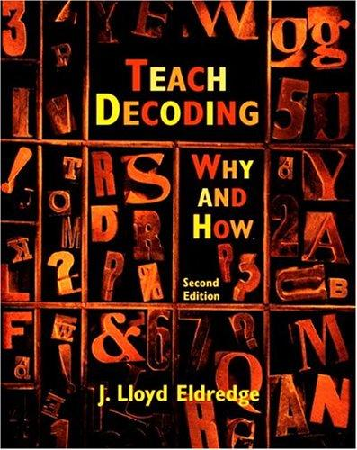 Download Teach decoding