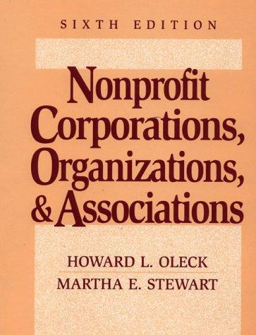 Download Nonprofit corporations, organizations & associations