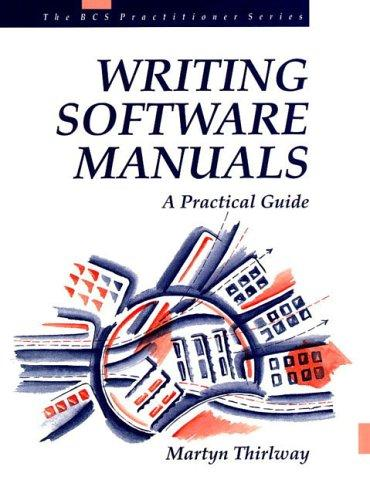 Download Writing software manuals