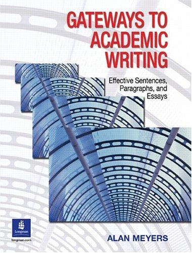 Download Gateways to Academic Writing