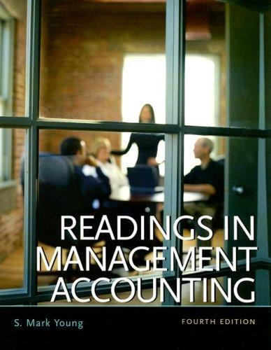 Readings in Management Accounting (4th Edition)