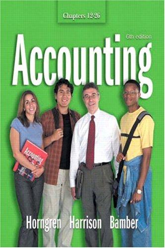 Download Accounting Chapters 12 – 26 (6th Edition)