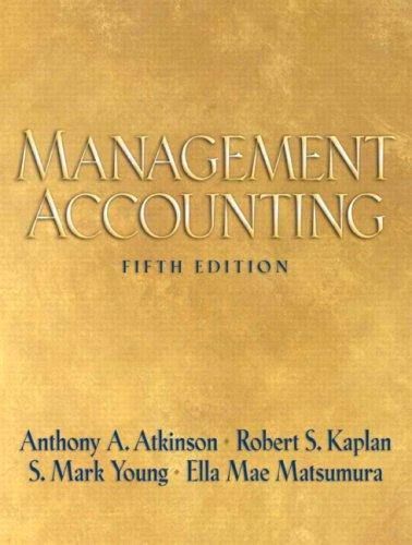 Management Accounting (5th Edition)