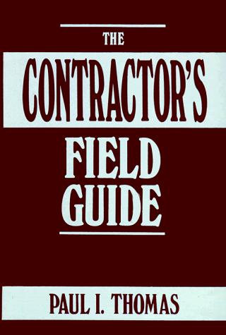 Download The contractor's field guide
