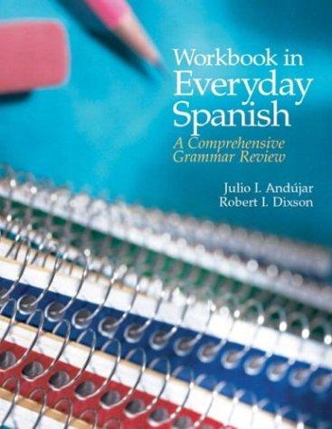 Workbook in Everyday Spanish