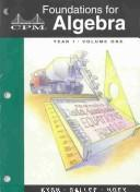 Download Foundations for Algebra