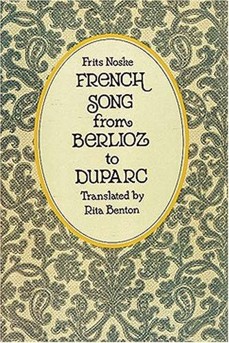Download French song from Berlioz to Duparc
