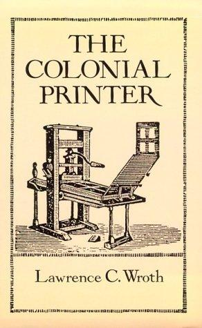 Download The colonial printer