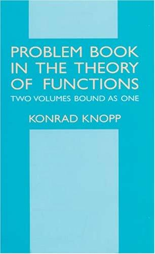 Download Problem book in the theory of functions