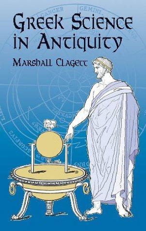 Download Greek science in antiquity