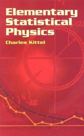 Download Elementary Statistical Physics