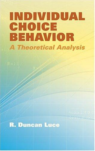 Download Individual Choice Behavior