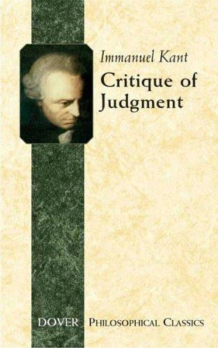 Download Critique of judgement