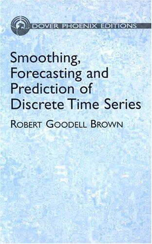 Smoothing, forecasting and prediction of discrete time series