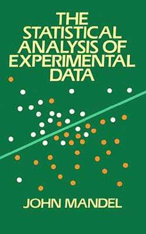 Download The statistical analysis of experimental data