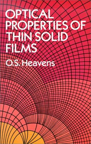 Download Optical properties of thin solid films