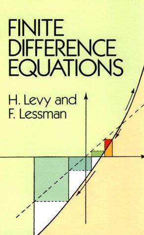 Finite difference equations