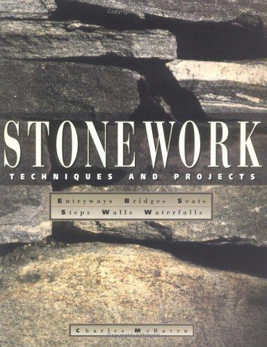 Stonework: Techniques and Projects, McRaven, Charles