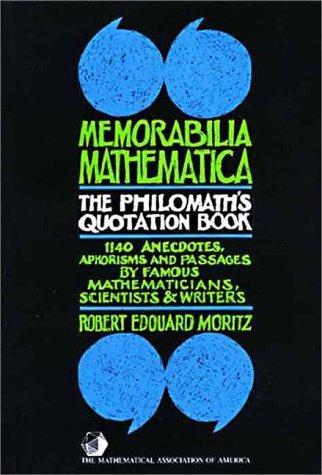 Memorabilia Mathematica
