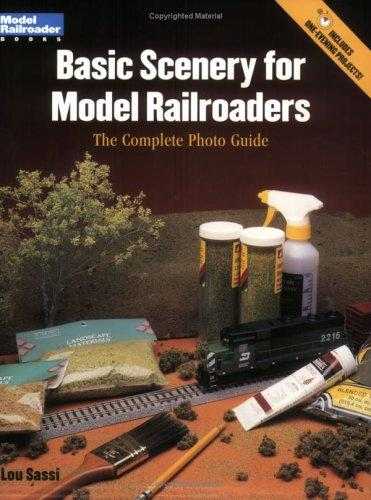 Basic scenery for model railroaders by Lou Sassi