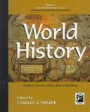 World History Original and Secondary Source Readings