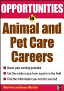 Download Opportunities in animal and pet care careers