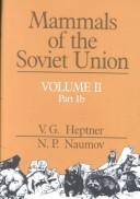 Download Mammals of the Soviet Union
