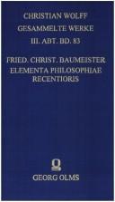 Elementa philosophiae recentioris