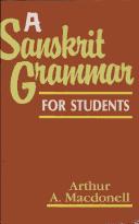 A Sanskrit grammar for students