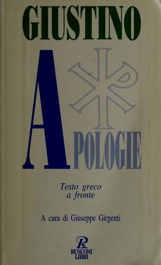 Cover of: Apologie | Justin Martyr, Saint