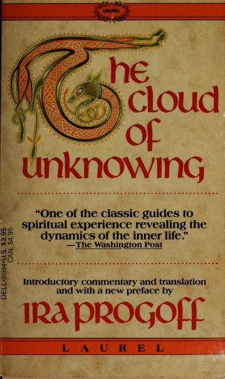 The Cloud of Unknowing by Ira Progoff