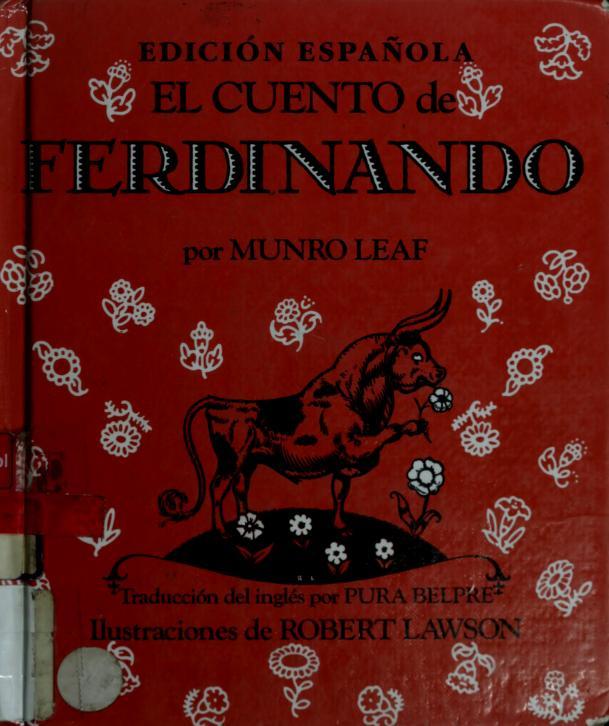 Cuento de Ferdinando, El by Munro Leaf