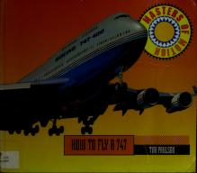 Cover of: How to fly a747 | Tim Paulson