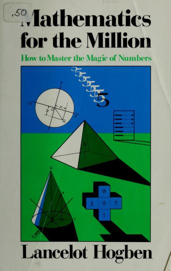 Mathematics for the million by Lancelot Thomas Hogben