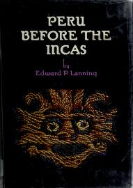 Cover of: Peru before the Incas | Edward P. Lanning