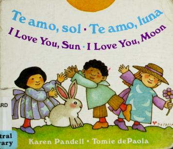 Cover of: Te amo, sol | Jean Little