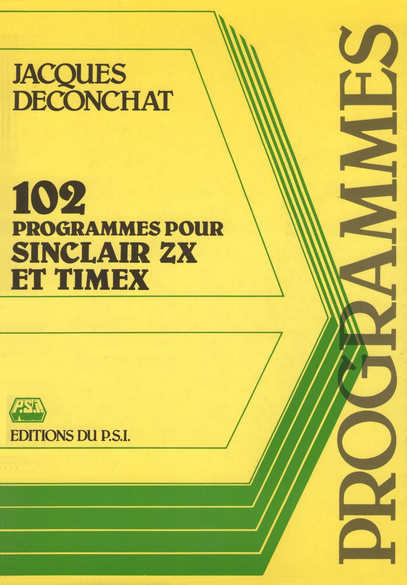 102 Programmes pour Sinclair ZX et Timex image, screenshot or loading screen