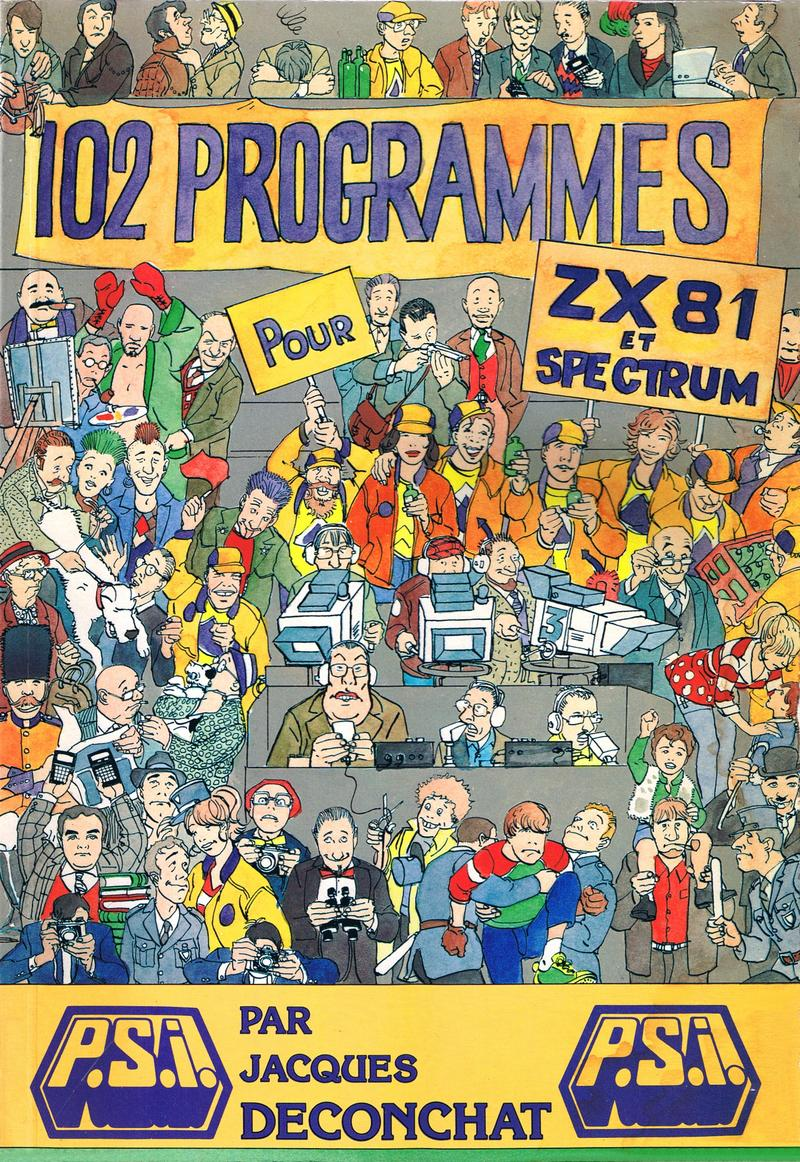 102 Programmes pour ZX81 et Spectrum image, screenshot or loading screen