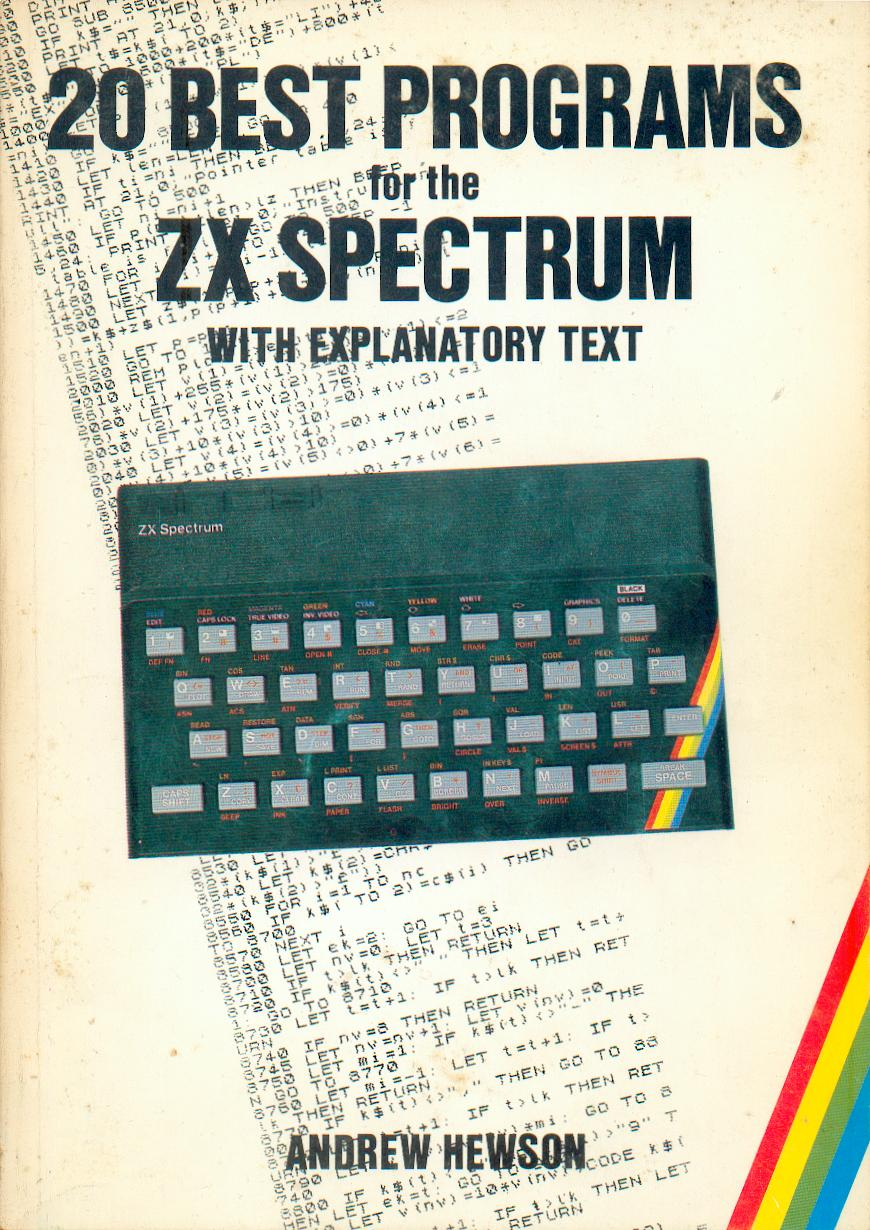 20 Best Programs for the ZX Spectrum screen