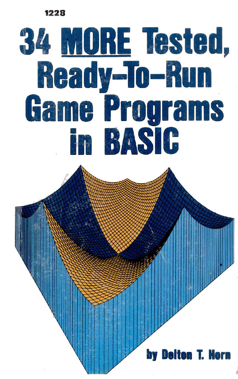 34 More Tested, Ready-To-Run Game Programs in BASIC image, screenshot or loading screen