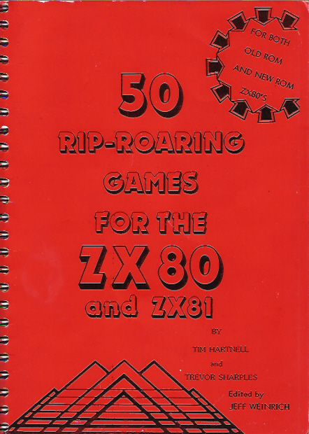 50 Rip-Roaring Games for the ZX80 and ZX81 image, screenshot or loading screen