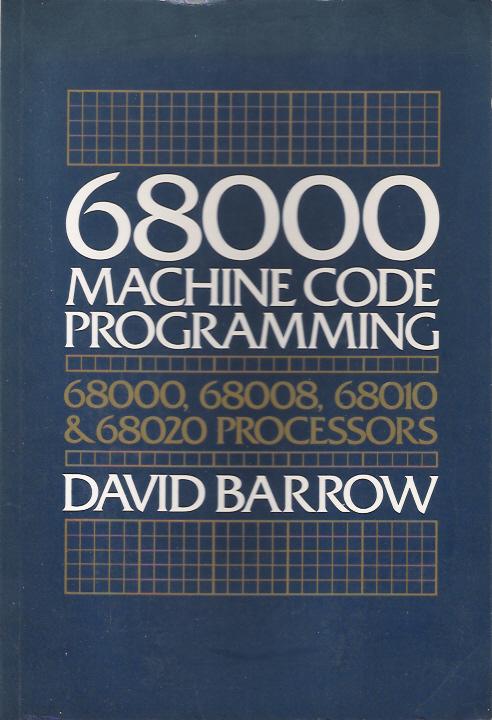 68000 Machine Code Programming image, screenshot or loading screen