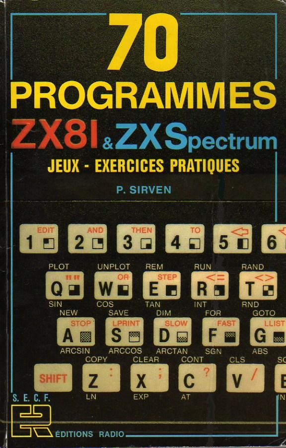 70 Programmes ZX81 & ZX Spectrum image, screenshot or loading screen