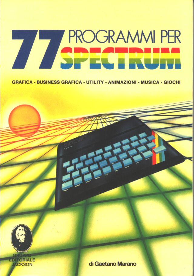 77 Programmi per Spectrum image, screenshot or loading screen